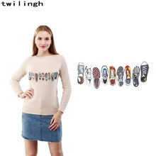 new custom design 3D transfer patches printed colorful character style patch iron on t-shirt washable beauty dress jacket(China)