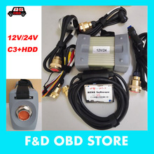 12V/24V MB STAR C3 + 2015.07 software For Mercedes Tester both car&truck mb star c3 full set with HDD (DAS +Xentry + WIS + EPC)