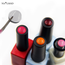 20pcs NailMAD Button Sticker for Gel Polish Nail Art Adhesive Label Sticker - How to Identify Nail Gel Polish(China)