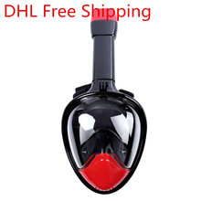 1pcs Newest Full Face Mask Set Underwater Diving Swimming Gopro Camera Anti Fog Dry Snorkeling Mask Dry Snorkel Breathable