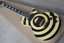 New Arrival Zakk Wylde Model Electric Guitar With Mahogany body And Rosewood Fingerboard(China)