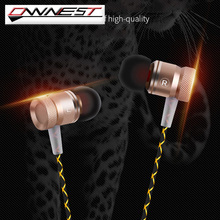 OWNEST 3.5mm In ear Noise Isolating HD HiFi Metal Earphone with microphone Headphones super bass stereo headsets for Smart phone