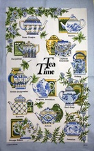 Tea time 100% cotton tea towel kitchen towel Table Napkin and Placemats Printed Kitchen Tea Towels High Quality 50x70cm