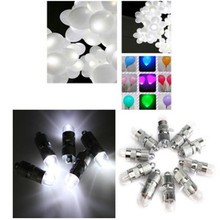 6pcs/pack Christmas Mini LED Balloon Lamp Ball Light for Chinese Paper Lantern Party Supplies Halloween Wedding Decor KO883075