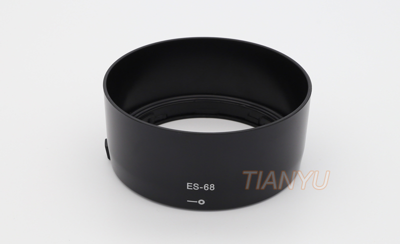 ES 68 ES-68 Lens Hood Bayonet Camera hood Caliber 49mm for Canon EF 50mm f1.8 STM lens protector Free Shipping+Tracking Numer 8