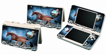 Horse 040 Vinyl Skin Sticker Protector for Nintendo DSI XL LL for NDSI XL LL skins Stickers