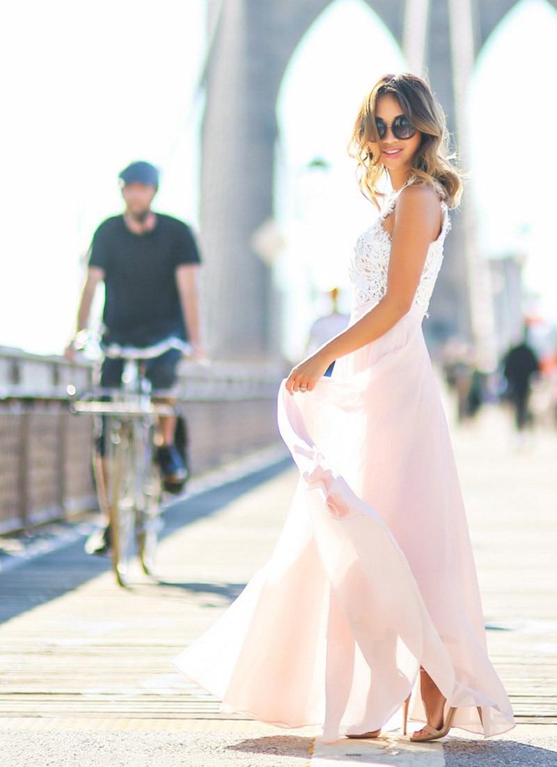 2018 Sexy Womens Elegant Flower Maxi Lace Dress vestido de festa Backless Dress Fashion Pageant Princess Party Formal Long Dress 17
