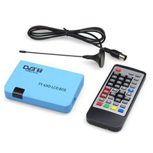 Brand New High Quality Pro Digital TV Box LCD VGA/AV Tuner DVB-T FreeView Receiver Great