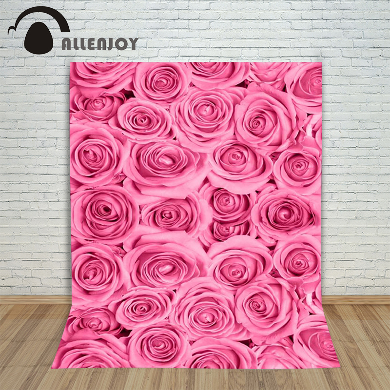 Photography background Rose bushes Wall Flower baby boy digital fabric Allenjoy backdrops<br><br>Aliexpress