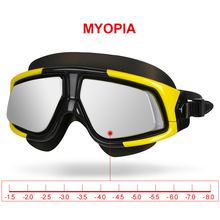 Buy Copozz Swimming Goggles Waterproof Anti Fog UV Eyewear Silicon Mirrored Large Frame Sport Myopia Glasses Men Women Swim Mask for $16.19 in AliExpress store