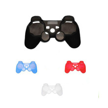 Silicone Protective Skin Cover For PS3 Skin Case For Playstation 3 Controller Controle