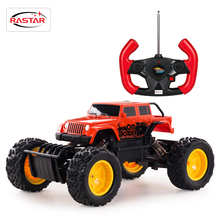 1:14 Rastar 4WD RC Cars Rock Crawler Remote Control Cars Toys For Boys 4x4 Drive Truck Machine On The Radio Control 59100