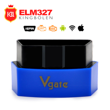 Original Vgate iCar3 Wifi Elm327 Wifi Code Reader Support OBD2 Protocol Cars ELM 327 iCar 3 wifi Scan for Android/ IOS/PC(China)