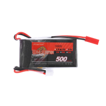 Wild Scorpion 7.4V 500mAh 25C MAX 35C Lipo Battery 2S JST Plug for RC Car Airplane Blade CX Helicopter Parts