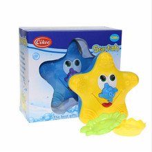 Baby water toys Bathing water bath toy starfish BABY sassy toys Swimming toys Child festive gift