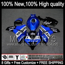 Repsol blue Bodys For HONDA CBR1000RR 08-11 CBR1000 RR 40JK11 CBR 1000RR 1000 RR 08 09 10 11 2008 2009 2010 2011 Fairing  Black
