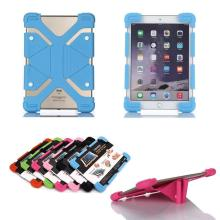 "Kids Friendly Safe Universal Shockproof Silicone Soft Stand Case Cover for 7"" HP Slate 7 2800 E0H92AA Tablet PC"
