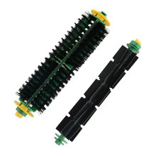10 pcs Bristle & Flexible Beater Brush for iRobot Roomba 500 Series 510 530 532 535 540 555 560 562 570 580 581 Wholesale