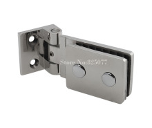 Top Quality 90 Degrees Stainless Steel 304 Wall Mount Glass Shower Door Hinge HM137