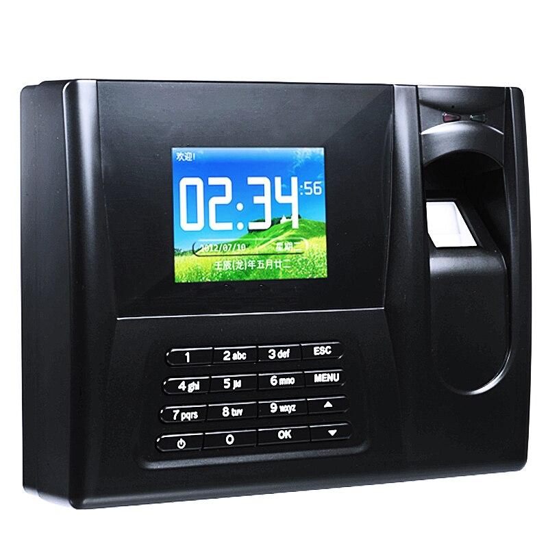 ZDC021 Software TCP/IP Biometric Time Clock Color Screen Fingerprint Time Attendance<br><br>Aliexpress