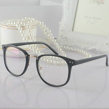 VAZROBE Clear Glasses with Transparent Glasses Men's Clear Fashion Eyeglasses Woman's Grade Point Myopia Spectacles Retro Female