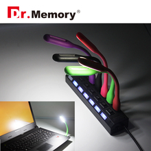 Dr.memory 8 color 1.2w LED light with portable function LED lamp foldable usb led light for xiaomi power bank usb light