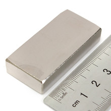 1PC 45 x 25 x 10mm N50 Strong Magnet Rare Earth Neodymium Magnet DIY Permanent Magnet So Powerful that Watch your hand