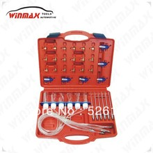 WINMAX Diesel Injector Tester Tool Fuel Flow Test Garage Common Rail Adapter Fuel Set WT04293