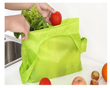 Hot Sale Small Shopping Bag Grocery Polyester Fiber Portable Fashion Tote Reusable Folding Shopping Travel Bag(China)