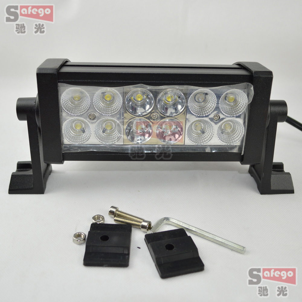 2pcs truck tractor SUV 4X4 offroad ATV 7.5 inch led light 36W led work working light bar driving bar<br>