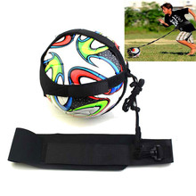 Outdoor&Sport Football Kick Trainer Skills Solo Soccer Training Aid Equipment Waist Belt(China)