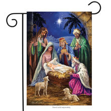 nativity religious christmas garden flag holiday baby jesus hanging banner for home garden yard decoration - Religious Christmas Yard Decorations