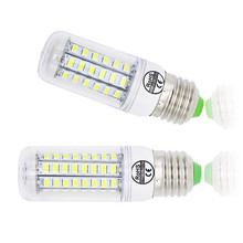 LED Corn Bulb E27 E14 Candle Light Bombillas 220V SMD 5730 Home Decoration Lamp for Chandelier Spotlight 12 24 36 48 56 69LEDs