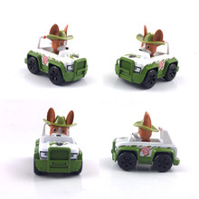 New Canine Patrol Dog Model Toys Movie TV Cartoon Anime Action Patrol Puppy Toy Sliding Toy Car For Children Birthday Gifts