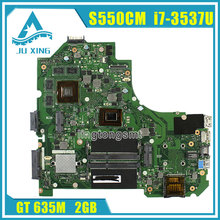 For ASUS A56C S550CM S56C S550C Laptop Motherboard i7 CPU on board Mainboard K56CM rev2.0 mainboard 100% tested
