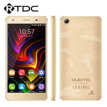 "In Stock Original Oukitel C5 Pro 4G LTE Mobile Phone MTK6737 Quad Core Android 6.0 5.0""HD 2GB RAM 16GB ROM 5.0MP 2000mAh OTA GPS(China)"
