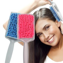 1Pc Magic Quick drying comb Professional Fiber Healthy Cushion Hair Massage Hairbrush fast dryer Combs Scalp brush hair care