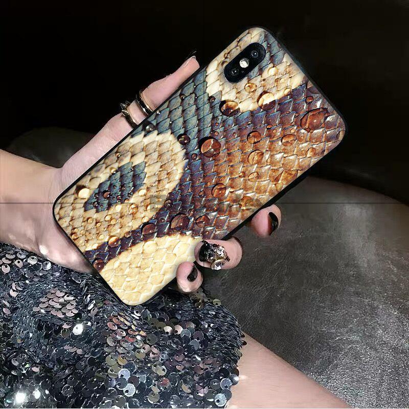 python yellow gold Snake skin