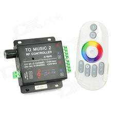 music 2 3-channel LED Controler / RF LED Music Controller / RGB Audio Controller (DC12V-24V)