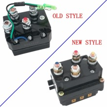 12V 250A Solenoid Relay Contactor Winch Rocker Switch Thumb Kit For ATV UTV Warn Contactors