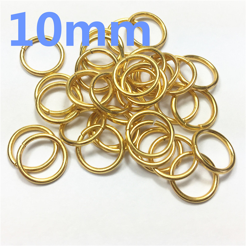 2-O Ring 10mm Metal for ribbon Dee Webbing Belt Buckles Bag Non Welded