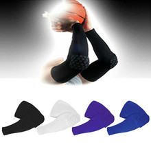 Hot 1 pc Honeycomb Sports Safety Tapes volleyball Basketball Kneepad Compression Socks Knee Wraps Brace Protection Knee Pads(China)