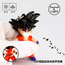 Buy 1pcs/lot Plastic Material Anime Dragon Ball Figure Key Chains Super Saiyan Goku Keychain Bag Pendant Car Key Chain Gift Toy for $1.56 in AliExpress store