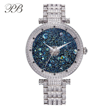 Hot Sale Famous PB Brand Watch Stylish Women Watch Luxury Jewelry Watch  Austrian Crystal Quartz Watch Lady Sapphire WristWatch