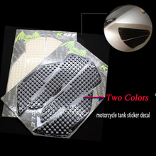 Anti slip stickers Motorcycle Carbon Fiber Tank Pad Side Grip Protector For HONDA VFR1200 CBR250 CBR400 CBR600 CBR900 CBR1000