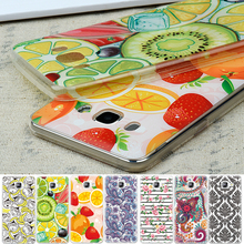Soft TPU Cover Phone Case For Samsung Galaxy J5 S7 S6 Edge A7 A3 J1 Mini J3 J5 A5 2016 Grand Prime Fruits Flowers Pattern Cover
