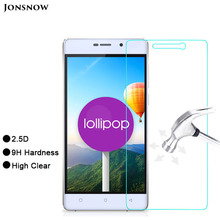 Jonsnow Clear LCD Front Explosion-proof Tempered Glass Film for Highscreen Power Five 5 Screen Protector pelicula de vidro
