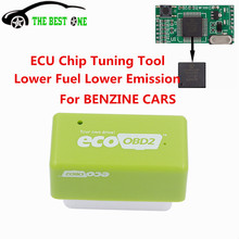 Saving 15% Fuel ECOOBD2 Chip Tuning Tool ECO OBD2 Plug&Drive Ready Device Function Different From Nitro OBD2 Chip Tuning Box