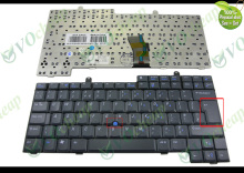 New UK Laptop keyboard for Dell for Inspiron 500M 600M 8500 8600 Latitude D500 D600 Black - DP/N: 01M737, 1M737, K010925X
