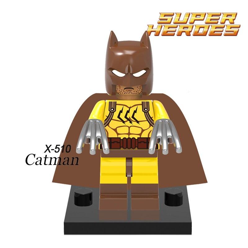 Building Blocks Catman Batman The Dark Knight Joker Minifigures Superhero Star Wars Bricks Kids DIY Educational Toys Hobbies<br><br>Aliexpress